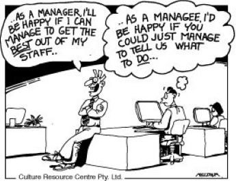 The Job of Managers